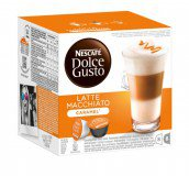 Кофе в капсулах Nescafe Dolce Gusto Latte Macchiato Caramel (Латте Макиато Карамель) упаковка 16 капсул