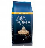 Кофе в зернах Alta Roma Supremo (Альта Рома Супремо) 1кг, вакуумная упаковка, 6 кг в 1 кор.
