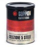 Кофе молотый Гоппион Selezione 5 stelle, 250 г. кофе молотый, металлическая банка.