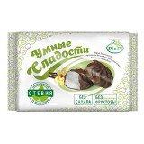 Зефир Умные сладости ванильный в глазури со стевией, 400 гр